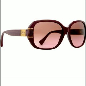 Coach Bryn Garnet Sunglasses New